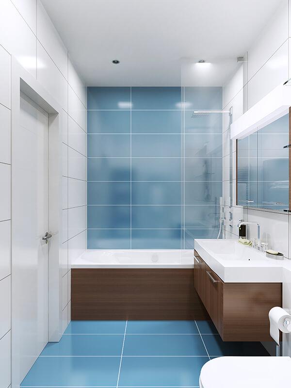 Fully Tiled Bathrooms
