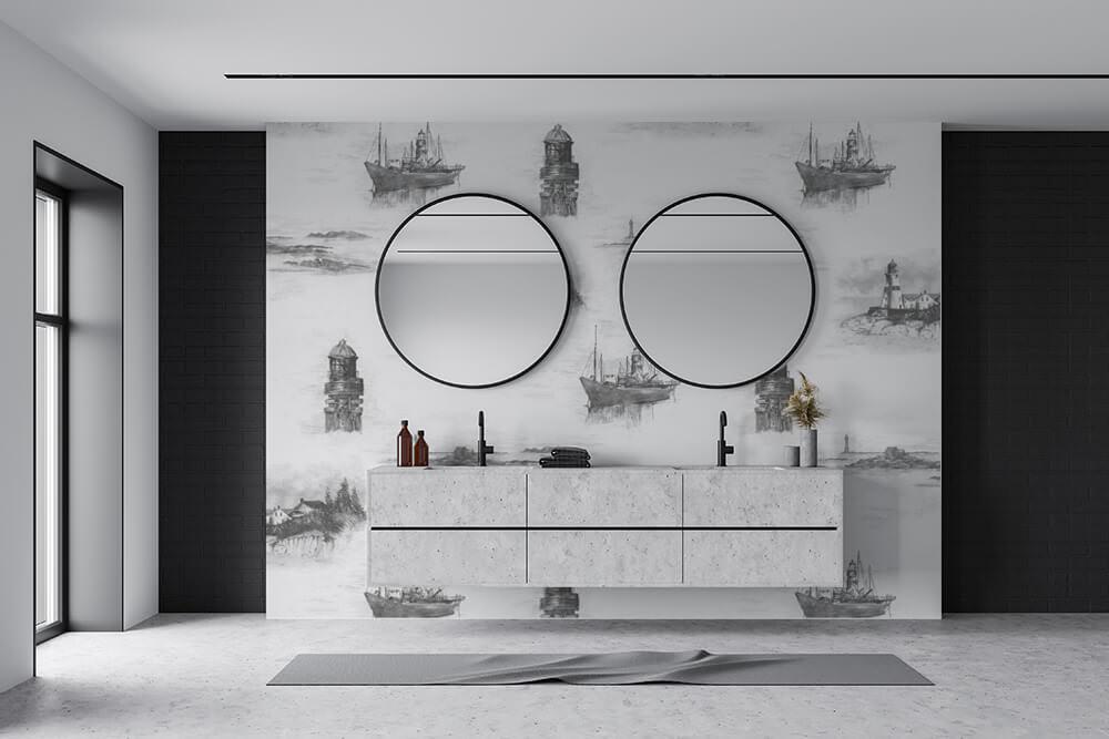 Nautical Themed Wallpaper