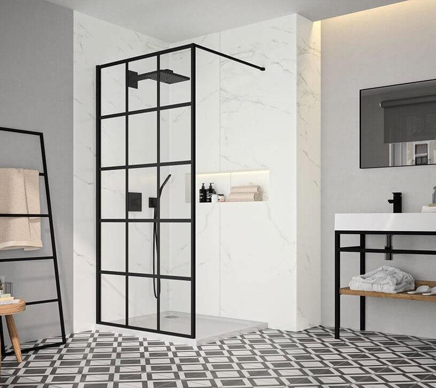 Sleek and stylish shower screens
