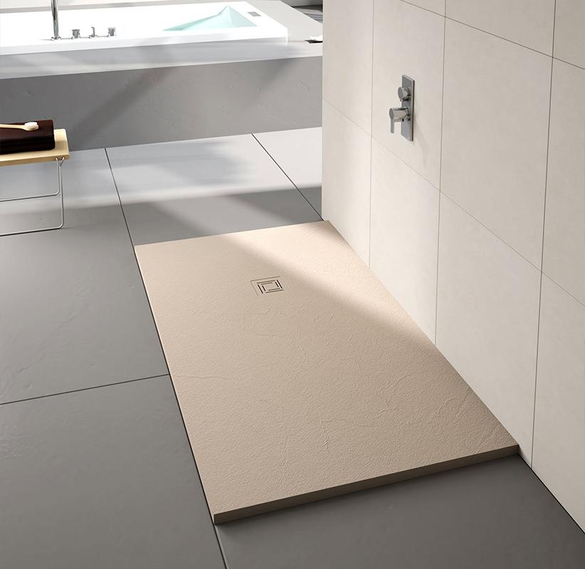 Small footprint shower trays