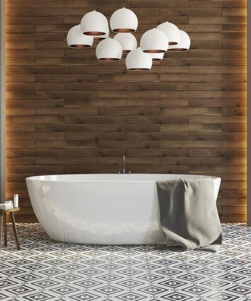 17 Trending Bathroom Floor Designs