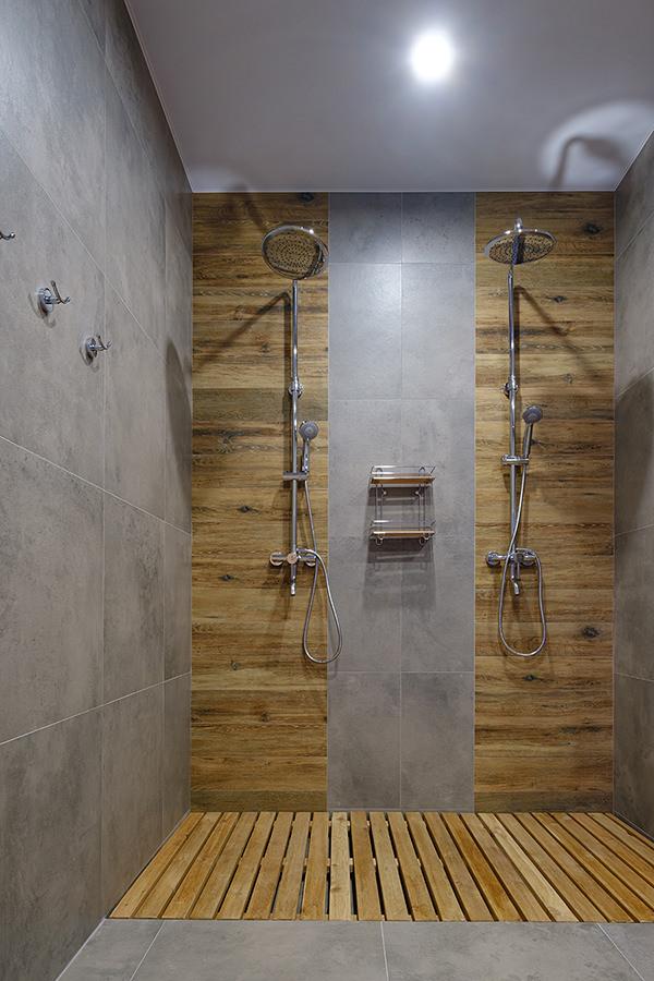 Wooden Flooring Wet room