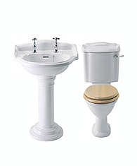 Traditional Toilets & Basins