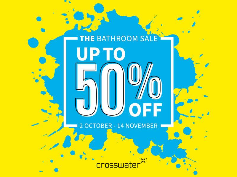 2021 Crosswater Bathroom Sale