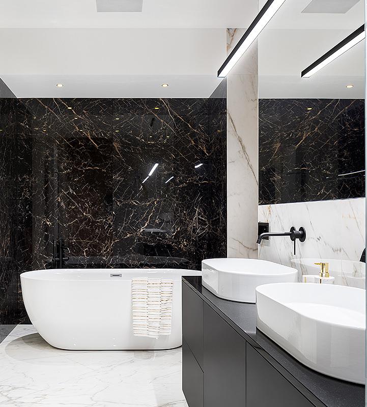 Led lights for modern bathrooms
