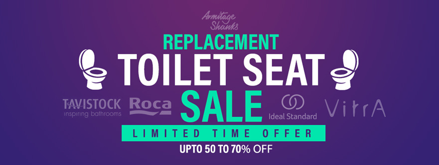 Replacement Toilet Seat & Toilet Sale