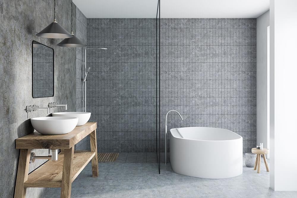 Small Tiles Bathroom