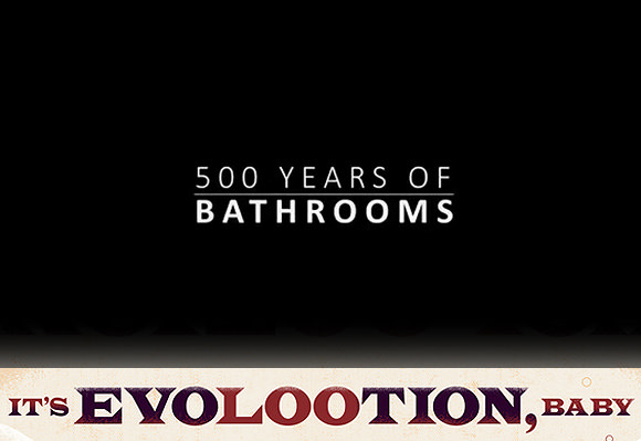 Look Back On 500 Years Of Bathrooms In 90 Seconds