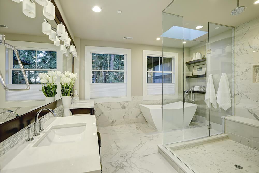 Marble Bathrooms Tiles