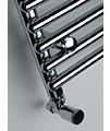 DQ Heating Altona Tube-On-Tube Heated Towel Rail White Or Chrome Finish small Image 4
