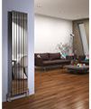 DQ Heating Delta 230 x 1600mm Brushed Stainless Steel Vertical Radiator small Image 4