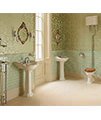 Imperial Oxford Cloakroom 535mm Basin White - OX1SB11030 small Image 4