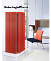 DQ Heating Modus 4 Column 400mm High White Radiator - 4 To 44 Sections small Image 4