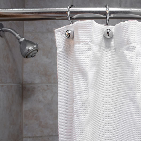 clean a shower curtain