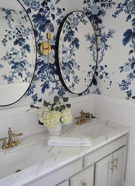 Classic Blue Wallpaper