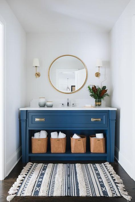 Classic Blue bathroom furniture
