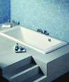 Roca Vythos Double Ended Luxurious Acrylic Bath 1700 x 800mm - 247701000 small Image 4