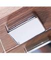 Sensory Instinct Single Mirror Glass Door LED Cabinet Walnut - SN590AW small Image 4