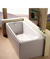Carron Arc Single Ended 5mm Acrylic Bath 1700 x 750mm small Image 4