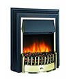 Dimplex Cheriton Remote Control LE Electric Fire Black-Brass | CHT20LE - Thumb Image 1