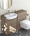 Ideal Standard Softmood Semi-Countertop Basin Unit White -T7818WG small Image 4