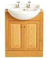 Heritage Dorchester Cloakroom Semi-Recessed 475mm Basin - 584mm Also Available small Image 4