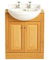 Heritage Dorchester 475 x 395mm Cloakroom Semi Recessed Basin small Image 4