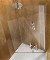 Cleargreen Hinged Bathscreen 850 x 1450mm small Image 4
