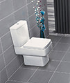 Nuie Premier Bliss Jewel Close Coupled WC With Cistern And Soft Close Seat small Image 4