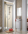 Twyford ES200 Bi-Fold Shower Enclosure Door 760mm - ES23200CP small Image 4