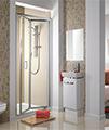 Twyford ES200 Bi-Fold Shower Enclosure Door 800mm - ES24200CP small Image 4