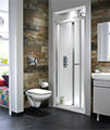 Twyford ES400 Premium-Quality Bi-Fold Shower Enclosure Door 800mm - ES44200CP small Image 4