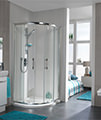Twyford ES400 Quadrant Shower Enclosure 800 x 800mm - ES44700CP small Image 4