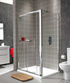 Twyford ES400 Sliding Shower Enclosure Door 1700mm - ES40500CP small Image 4
