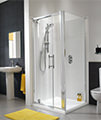 Twyford ES400 Pivot Shower Enclosure Door 760mm - ES43100CP small Image 4