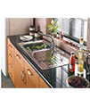 Astracast Alto 1.0 Bowl Stainless Steel Inset Sink small Image 4