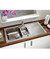 Astracast Korona 1.5 Bowl Polished Stainless Steel Inset Sink And Tap Pack small Image 4