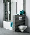 Ideal Standard Create Edge Wall Hung WC Pan 540mm - E301401 small Image 4