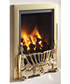 Flavel Kenilworth Manual Control HE Inset Gas Fire Brass small Image 4