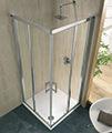 Twyford Geo6 Corner Entry Shower Cabin 900mm - G65303CP small Image 4