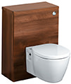 Ideal Standard Concept 500 x 300mm WC Unit American Oak - E6453SO - Thumb Image 1