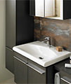 Moments Single Lever One Tap hole Basin Mixer Tap - A3903AA small Image 4