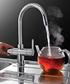 Franke Minerva 3-In-1 Kettle Kitchen Sink Mixer Tap Chrome small Image 4
