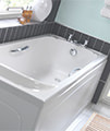Twyford Signature 1700 x 700mm Acrylic Bath With Grips - SE8520WH small Image 4