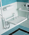 Twyford Doc.M Shower Pack With White Grab Rails And Seat small Image 4