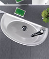 Twyford Galerie Optimise Short Projection Handrinse Basin 535 x 260mm small Image 4