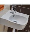 Twyford Moda Corner Washbasin 500 x 485mm - MD4191WH small Image 4