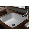 Twyford Moda Under Countertop Washbasin 520 x 410mm - MD4510WH small Image 4