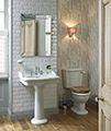 Heritage Victoria 650mm 3 Taphole Standard Basin - PVEW063 small Image 4