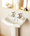 Heritage Rhyland 463 x 370mm 1 Or 2 Taphole Cloakroom Basin small Image 4